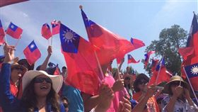 台灣國旗-中國民國國旗-(圖/翻攝自駐美國台北經濟文化代表處臉書)