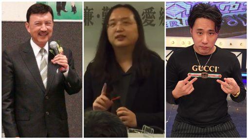 唐鳳演講太精采 余天當眾問:能讓余祥銓在你身邊學習嗎? 合成圖/翻攝自臉書