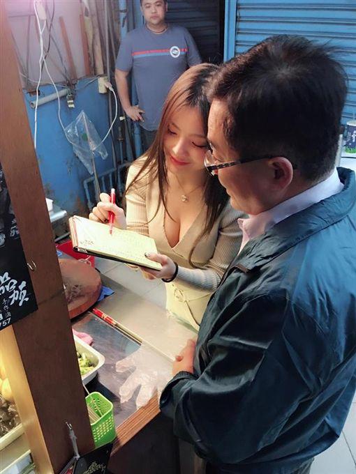 台中最狂滷味妹 所有人都在看她切圖/翻攝自小桃子臉書 ID-1228303