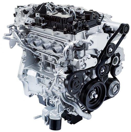 SkyActiv-X油電引擎預計會率先使用在Mazda3。(圖/翻攝Mazda網站)