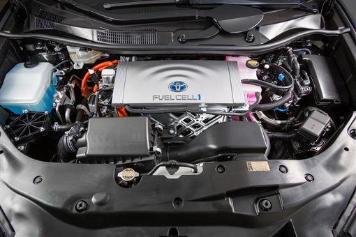 Toyota Mirai氫燃料電池車。(圖/翻攝Toyota網站)