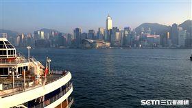 海運觀點,海港城,香港,維多利亞港。(圖/記者馮珮汶攝)