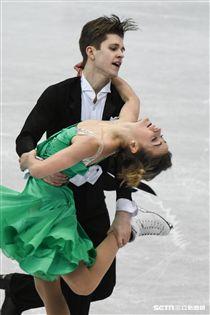 四大洲花式滑冰錦標賽冰舞長曲加拿大 Carolane Soucisse/Shane firus 圖/記者林敬旻攝