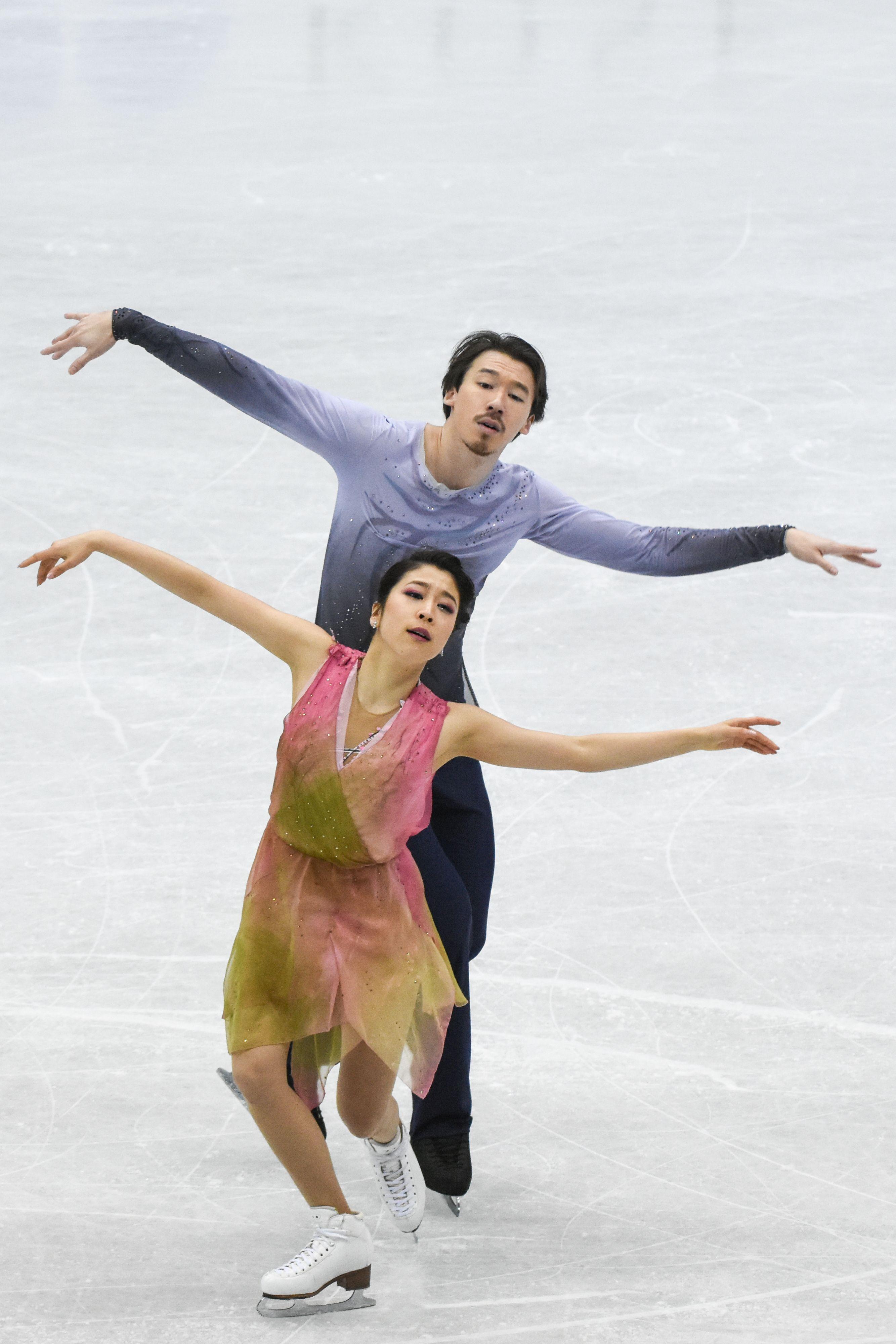 四大洲花式滑冰錦標賽冰舞長曲日本 kana muramoto /Chris Reed 圖/記者林敬旻攝