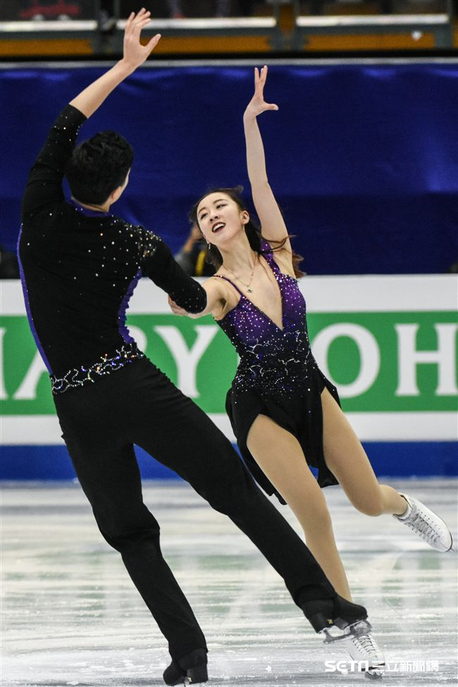 四大洲花式滑冰錦標賽冰舞長曲中國 圖/記者林敬旻攝