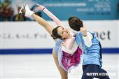 四大洲花式滑冰錦標賽冰舞長曲韓國 Yura Min/ Alexander Gamelin 圖/記者林敬旻攝