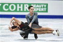 四大洲花式滑冰錦標賽冰舞長曲澳洲 Chantelle Kerry/ Andrew Dodds 圖/記者林敬旻攝