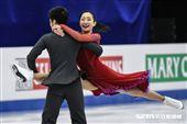 四大洲花式滑冰錦標賽冰舞長曲日本 Rikako Fukase/ Aru Tateno 圖/記者林敬旻攝