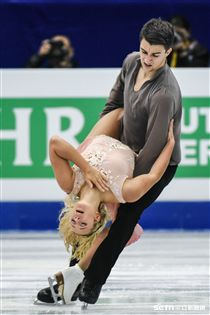 四大洲花式滑冰錦標賽冰舞長曲澳洲 Matilda Friend/ William Badaoui 圖/記者林敬旻攝