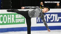 四大洲花式滑冰錦標賽男子單人短曲湯銘恩 圖/記者林敬旻攝