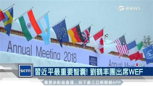 中國,習近平,劉鶴,WEF,世界經濟論壇