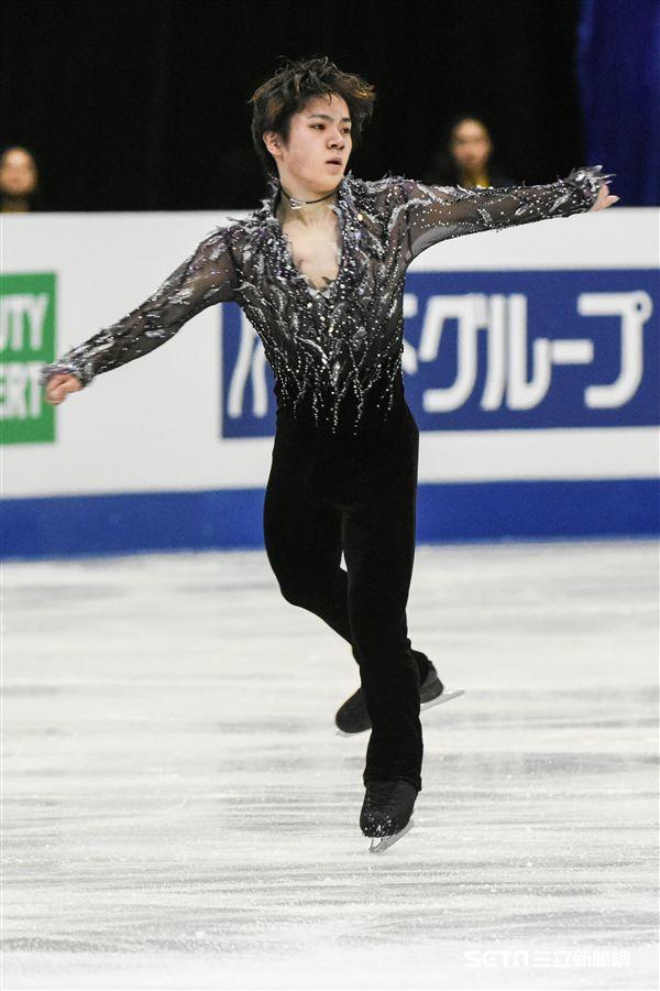 四大洲花式溜冰錦標賽男子短曲日本選手宇野昌磨 圖/記者林敬旻攝