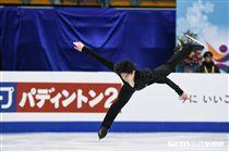 四大洲花式滑冰錦標賽男子短曲日本選手田中刑事 圖/記者林敬旻攝