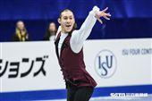 四大洲花式滑冰錦標賽男子短曲美國選手Jason Brown 圖/記者林敬旻攝