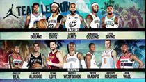 NBA明星賽名單(圖/翻攝自推特)