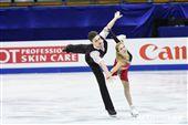 四大洲花式滑冰錦標賽雙人長曲澳洲選手Ekaterina Alexandrovskata、Harley Windsor。 圖/記者林敬旻攝