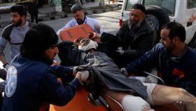 阿富汗首都喀布爾欲自殺炸彈攻擊(圖/路透社/達志影像)