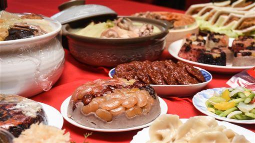 年菜,過年,年貨,市場,採買,農曆年 圖/記者林敬旻攝