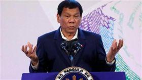 菲律賓總統杜特蒂(Rodrigo Duterte)(圖/翻攝自推特)