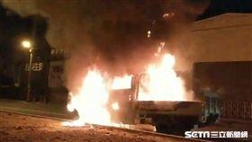 7萬新Gogoro全燒毀 車主控訴機車電池釀禍/翻攝畫面