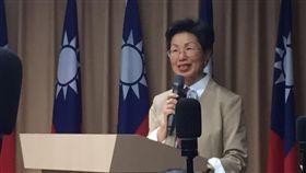 陸委會主委張小月,年終記者會。(記者盧素梅攝)
