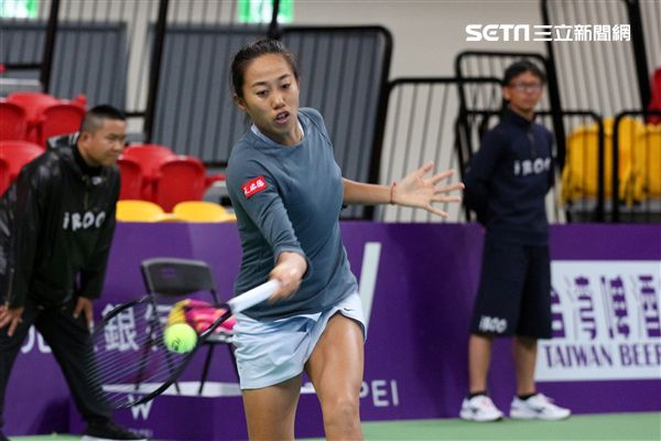 ▲中國網球好手張帥。(圖/記者蔡宜瑾攝影)