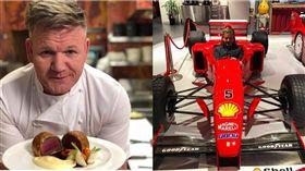 保鮮膜,超速,地獄廚神,Gordon Ramsay,拉姆齊,罰單 圖/翻攝自臉書