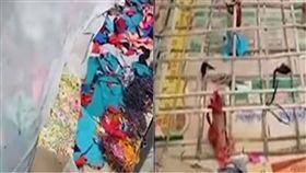 印尼,床墊,保險套,貪小便宜,銷售員,催眠,紙板,碎布 圖/翻攝自YouTube https://goo.gl/Ptj2t7