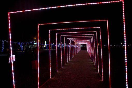 屏東綵燈節。(圖/翻攝自潘孟安臉書)