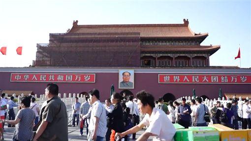 台灣年輕人效力陸企 疑惑「大陸這麼快,為何台灣還在鬧」圖/翻攝自YouTube北京天安門