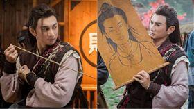 藝人吳奇隆主演的最新電視劇《蜀山戰紀2踏火行歌》 圖/愛奇藝台灣站提供