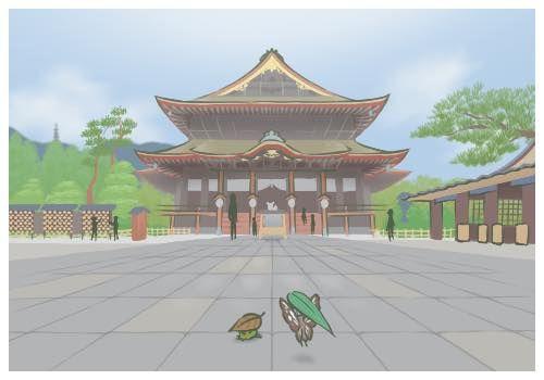 旅蛙,旅かえる,明信片,日本,旅遊,翻攝網路
