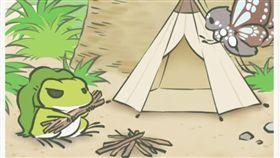 旅かえる,蛙,手遊,旅行青蛙,呂秋遠,旅蛙,生命自己會找到出路,青蛙