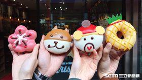 Krispy Kreme春節新品甜甜圈。(圖/讀者Amber提供)