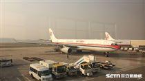 中國東方航空,資料照。(圖/記者簡佑庭攝)