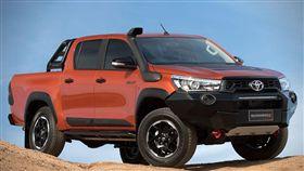 Toyota HiLux Rugged X皮卡。(圖/翻攝Toyota網站)