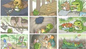 旅行青蛙,旅かえる,旅蛙,日本,照片,明信片,稀有照,攻略 圖/翻攝自墨墨豆瓣 https://goo.gl/XBz5TQ
