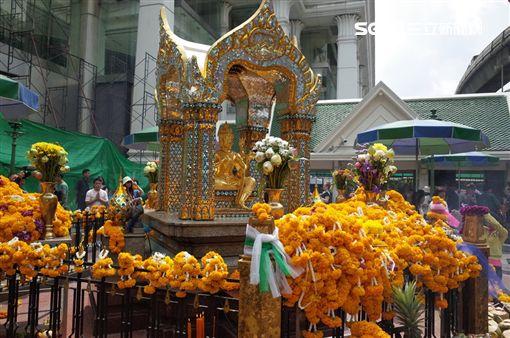 2018新春開運景點,泰國曼谷,四面佛。(圖/雄獅旅遊供給)