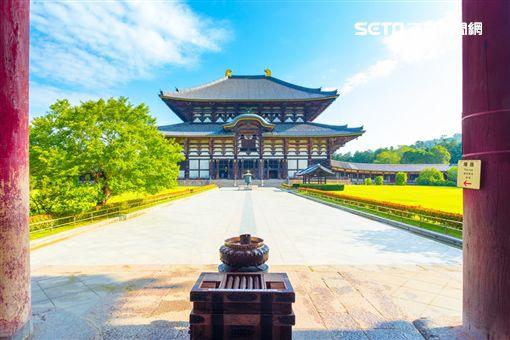 2018新春開運景點,奈良,東大寺。(圖/雄獅旅遊供給)