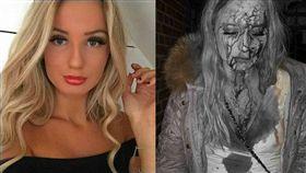 瑞典少女喬和森(Sophie Johansson)遭色狼攻擊/翻攝自Luisella Costamagna Fans club臉書