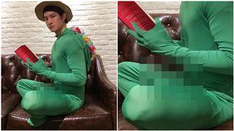 波特王扮成18禁旅蛙 網:別回家了