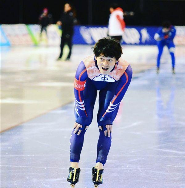 ▲競速滑冰好手戴瑋麟。(圖/翻攝自戴瑋麟的Instagram)