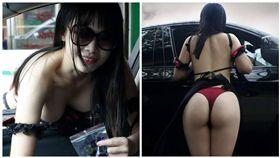 檳榔西施,藝術家,Momo cat(圖/翻攝自聯結車大貨車大客車拉拉隊運輸業照片影片資訊分享團臉書粉絲專頁)