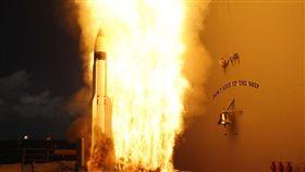 ▲美日共同研發的標準3型(SM-3 Block IIA)防空飛彈(圖/翻攝自維基百科)