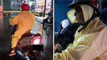 近幾日大陸冷氣團來襲,天氣相當濕冷,但台灣人的人情味卻超暖心!有一名男網友在騎車回家時,正下著大雨,突然有一名熱心的老婆婆騎到他旁邊送他雨衣,但他卻只回應簡短的謝謝,讓他愧疚直呼,「對不起,我很失禮,謝謝老婆婆妳的人情味,是今年遇到最甜的內心滋味。」(圖/翻攝自新竹大小事臉書)