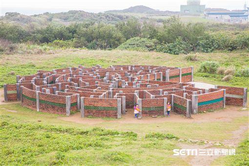 老梅迷宮。(圖/新北市觀光旅遊局提供)