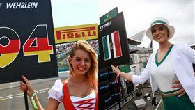 F1宣布賽車女郎走入歷史 女權團體支持大讚秒「宣傳」 賽車女郎 合成圖/翻攝自f1max33 & immywatt IG https://www.instagram.com/f1max33/ https://www.instagram.com/immywatt/