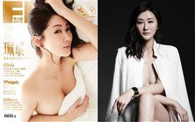 陳珮騏首度登上《FHM男人幫國際中文版》雜誌封面,圖/FHM提供