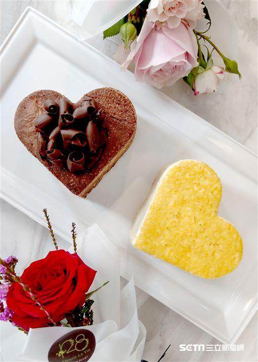 情人節,千層蛋糕。(圖/Lady M提供)