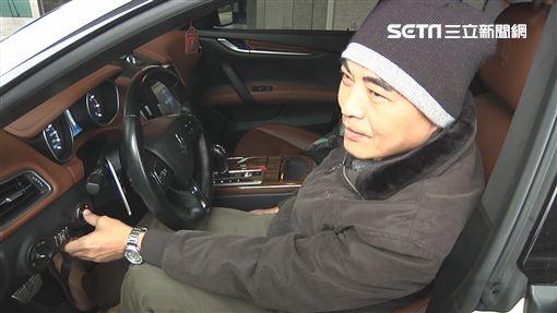 因兒子一句「喜好」,杜男帶上百萬現金霸氣標走這輛瑪莎拉蒂跑車。(圖/翻攝畫面)
